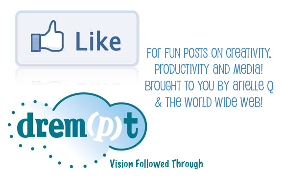 Inspired by creativity, productivity, and media? Follow Drempt on Facebook